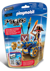 kidz-stuff-online - Playmobil 6164 - Pirates Interactive Cannon with Pirate