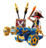 Playmobil 6164 - Pirates Interactive Cannon with Pirate