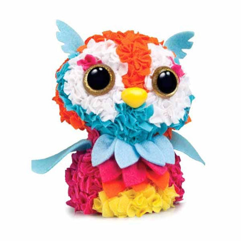 Owl 3d Plush Craft