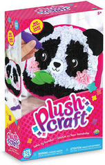 plush craft panda pillow