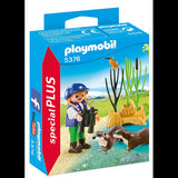 Playmobil 5376 Young Explorer with Otters