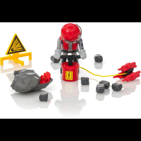 Playmobil 9092 Rock Blaster with Rubble