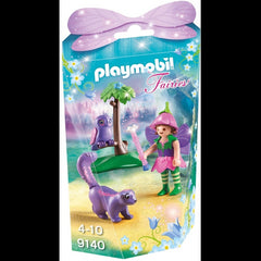 Playmobil Fairies 9140 Fairy Girl With Animal Friends