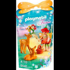 Playmobil Fairies 9141 Fairy Girl With Fawns