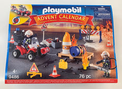 kidz-stuff-online - Playmobil Advent Calendar - Fire Rescue