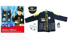 kidz-stuff-online - Police Officer Dress-up with Accessories