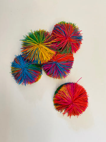 Colourful Ball Pom Pom