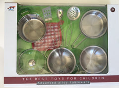 kidz-stuff-online - Pots and pan set Stainless