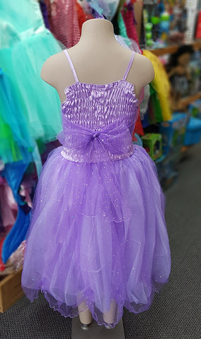 Light Purple Glitter Dress - Small