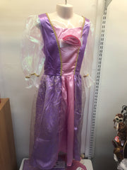 Purple Princess Play Pretend Dress Small