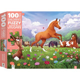 Horsing Around 100 Piece Puzzle