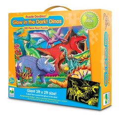 kidz-stuff-online - Glow In The Dark Dinos Puzzle 100 piece