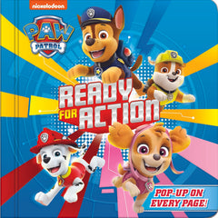 Paw Patrol Ready For Action Pop Up Book