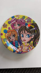Girls Party Plates