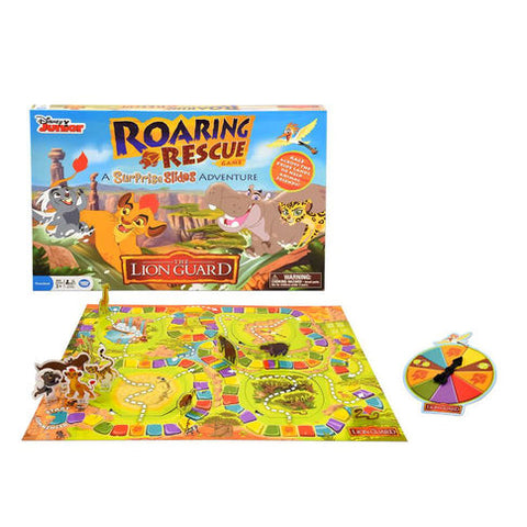 Roaring Rescue Game - Disney Junior lion king
