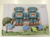 Robot Clip Wall Art by Crystal Ashley