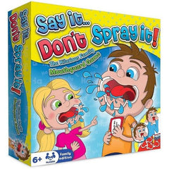 Say it Don't Spray it! Game