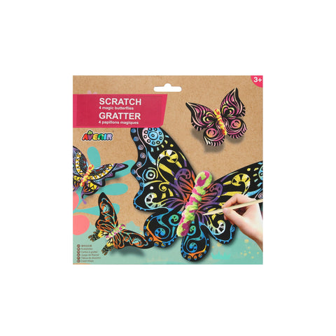Scratch Art Kit - Magic Butterflies