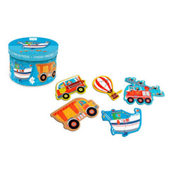 Vehicles Puzzles 5 Pack - Scratch Europe