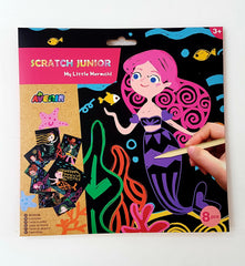 kidz-stuff-online - Scratch Art - My Little Mermaid