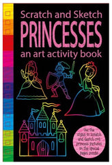 Scratch & Sketch: Activity Book - Princesses