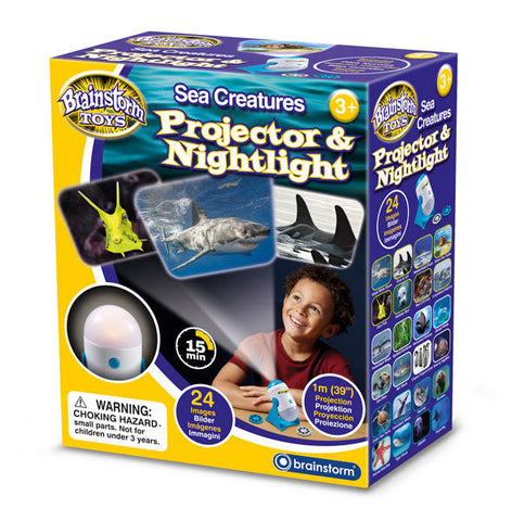 Brainstorm Toys Sea Creatures Projector & Nightlight