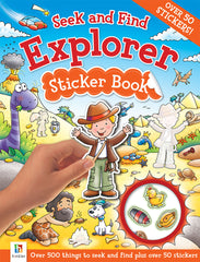 Seek and Find: Explorer Sticker Book