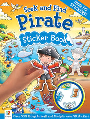Seek and Find: Pirate Sticker Book