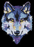 Sequin Art Wolf