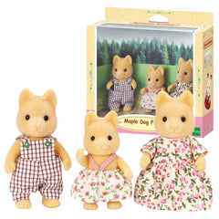kidz-stuff-online - Sylvanian Families Maple Dog Family 5132
