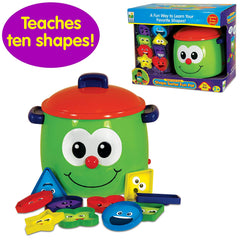 Shape sorter fun pot Early Larning