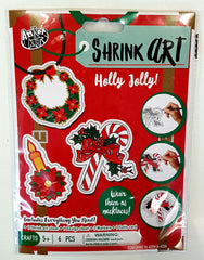shrink art christmas
