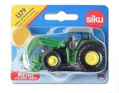 Siku: Tractor with bale gripper