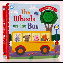kidz-stuff-online - The wheels of the bus sing along book