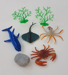 Small Ocean Creatures in polybag