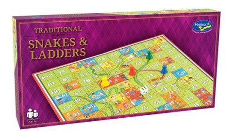 Snakes and Ladders Traditional Game