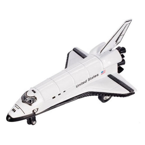 Space Shuttle Pull Back