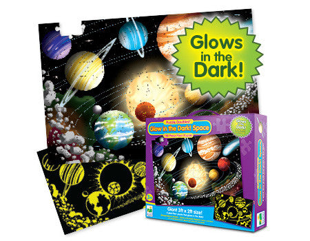 Glow in the Dark Solar Space puzzle