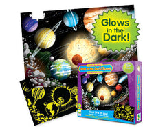 kidz-stuff-online - Glow-in-the-Dark Solar Space puzzle