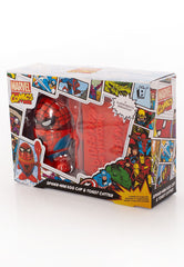 SpiderMan Egg Cup holder and Toast Cutter
