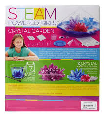 kidz-stuff-online - Steam Powered Girls Crystal Garden Kit