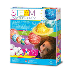 kidz-stuff-online - STEAM Powered Girls Solar System String Lights- 4M