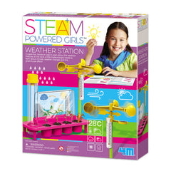 kidz-stuff-online - STEAM Powered Girls Weather Station - 4M