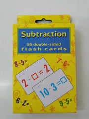 kidz-stuff-online - Subtraction Flash Cards