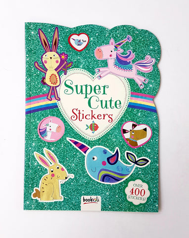 Super Cute Stickers Book