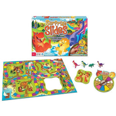 Surprise Slides Dinosaur Board Game