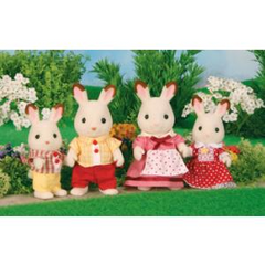 kidz-stuff-online - Sylvanian Families Chocolate Rabbit Family