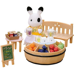 Sylvanian Families Juice Bar & Figure