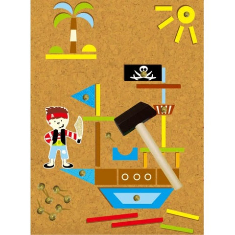 Tap a shape Pirate cork and nail set