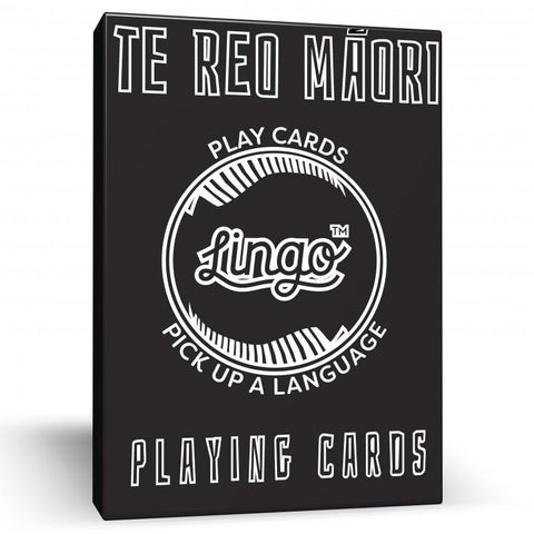 Te Reo Playing Cards